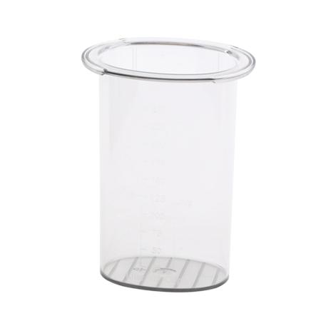 Odmerka/pohárik na pritláčanie pre priebehový krájač 1