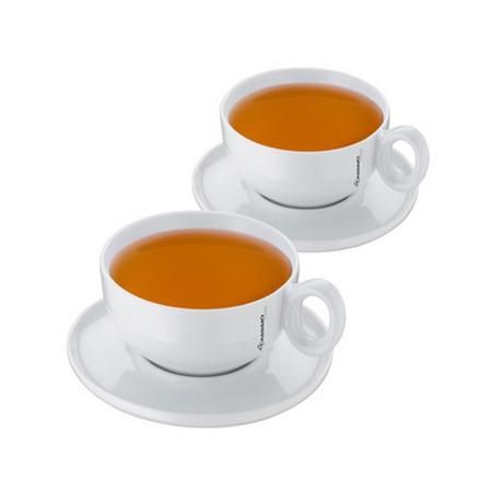 Sada dvoch porcelánových šálok na čaj 1